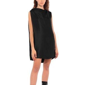 NWT Rick Owens Textured Tunic Dress Silk Blend
